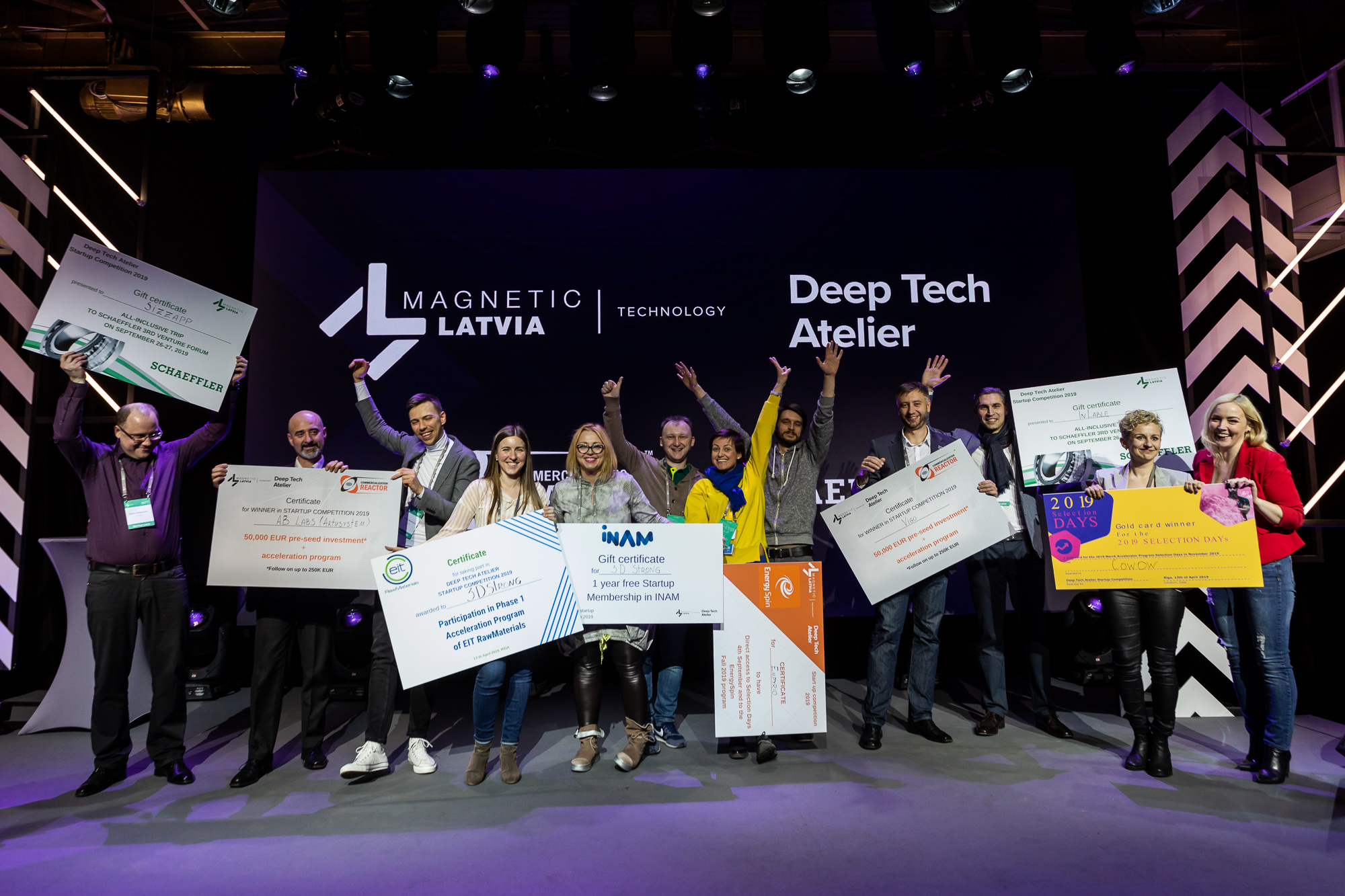 Artusystem wins Main Prize at DTA2019